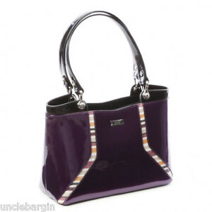 ... about Serenade Purple Tulip Genuine Leather Handbag (SH24-7128