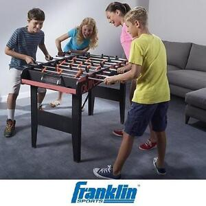 """NEW FRANKLIN SPORTS FOOSBALL TABLE - 108164053 - 48"""" TABLE SOCCER TABLES JITZ - ARCADE GAME GAMES ROOM TEAM SPORTS RE..."""