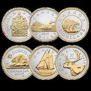Beautiful Big Coin Set from the Canadian Mint