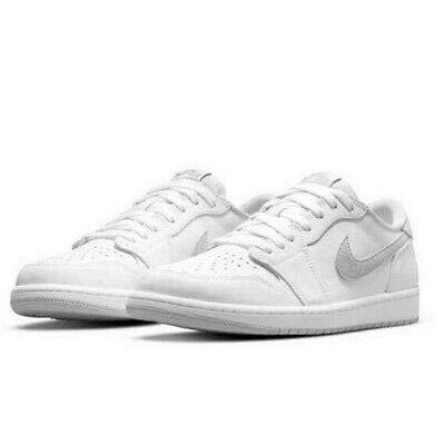Nike Air Jordan 1 OG Low Neutral Grey Size 8.5 Man's Brand New Confirmed