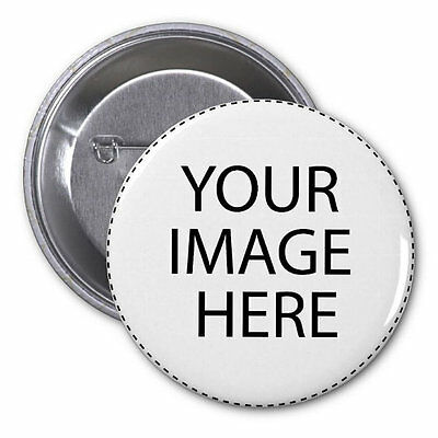 Custom photo PINBACK BUTTONS with ANY IMAGES your choice personalized pin badges (Photo Button Pins)