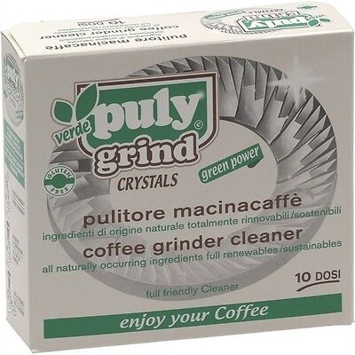 Puly Grind Coffee Grinder Cleaner Crystals Box Of 10