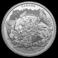 $200 SILVER RUGGED MOUNTAINS COIN