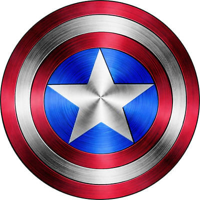 Captian America Shield (Captian America Shield  vinyl sticker for skateboard luggage laptop tumblers)