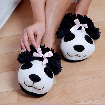 Panda Bear Novelty Adult Slippers Panda Bear Slippers