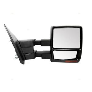 FORD F-150 F150 TOWING MIRROR TRAILER STYLE POWER NEW PAIR