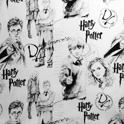 Harry Potter Character Cotton Fabric Harry Potter Character Sketch Cotton Fabric - Harry Potter Character Costume