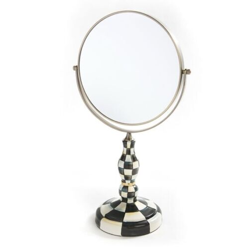 Mackenzie Childs Courtly Check Vanity Mirror RETIRED New in box! MSRP $150
