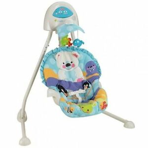 BERCEAU-BALANCELLE CRADLE'N SWING FISHER PRICE