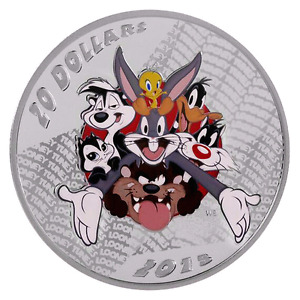 BUGS BUNNY, SYLVESTER & TWEETY SILVER COIN-SOLD OUT!!!