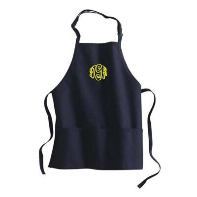 Custom Personalized Embroidered Monogrammed Chef Apron Cooking (Embroidered Chefs Apron)
