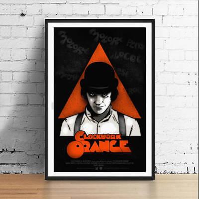 A Clockwork Orange Kubrick Alex 11 x 17 Movie Poster Horror Art Poster Mondo
