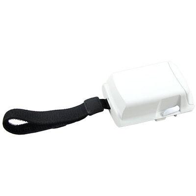 (White extended capacity battery door for Motorola/Symbol MC75 & MC70 Scanners.)