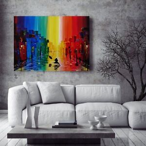 """New, Original Painting """"The Colour of Happiness"""" London Ontario image 1"""