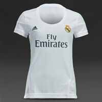 Ronaldo 7 Real Madrid jerseys for WOMAN  2015-16 white color