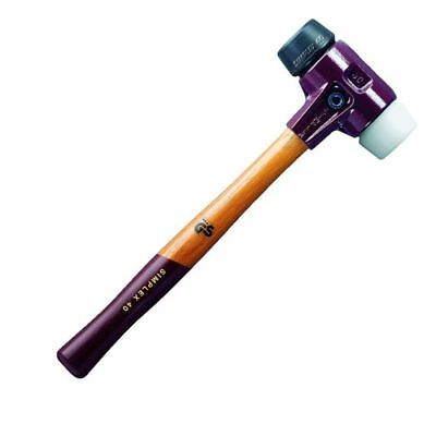Halder Simplex Schonhammer Gummi/Superplastik Ø 60 mm 1530 g Nr.3027.060