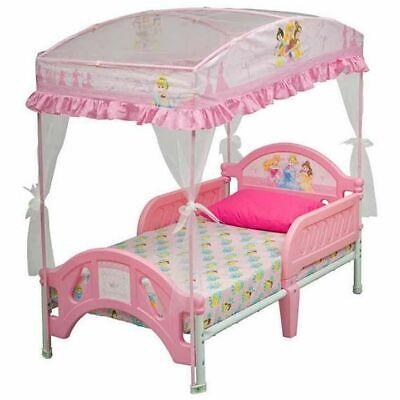 Girl  Toddler Bed  furniture Kids Disney Bundle  Kid Children Canopy Baby