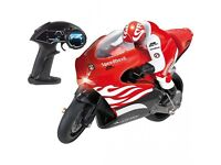 revell speed devil rc motorbike with working headlights