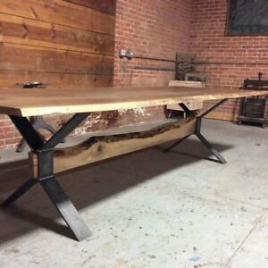 Live edge tables start date March 1st