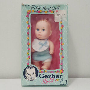 1980's Gerber Baby Food Advertising Character Doll ORIGINAL BOX
