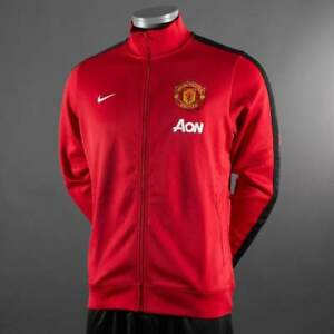 NIKE MANCHESTER UNITED AUTHENTIC TRACK JACKET