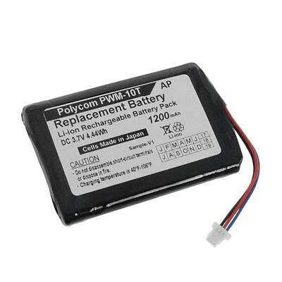Replacement Battery For Polycom Wireless Soundstation Pwm-10t