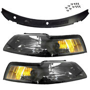 99-04 Mustang Smoked Tail Lights