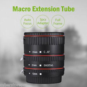 weihe-Auto-Enfocado-Macro-plastico-ALARGADOR-Tubo-para-Canon-EF-EF-SEGUNDOS