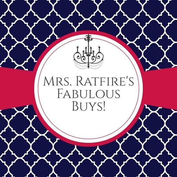 Mrs.Ratfire's Fabulous Buys-