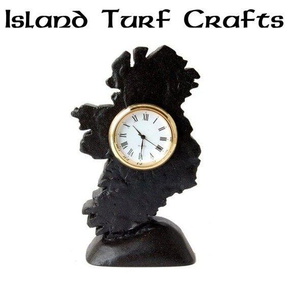 "Map Of Ireland Clock 5"""