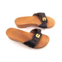 sandale de bois dr scholl