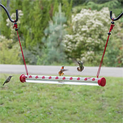 "Perky-Pet HUMMERBAR 24"" HUMMINGBIRD FEEDER with 22 PORTS, Free USA Shipping  #dm"