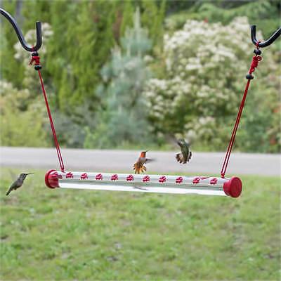 "Perky-Pet HUMMERBAR 24"" HUMMINGBIRD FEEDER with 22 PORTS, Fr"