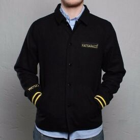 WeSC X Fatsarazzi jacket blazer (similar to off white, Balenciaga, supreme, carhartt) wool and silk