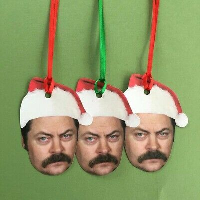 Parks and Rec TV Show Ron Swanson Holiday Gift Tags ()