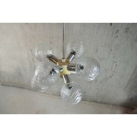 Amazing 1970s French Sputnik Ceiling Lamp