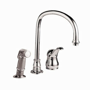 Brand New In Box Kitchen Faucet - Gooseneck with Spray