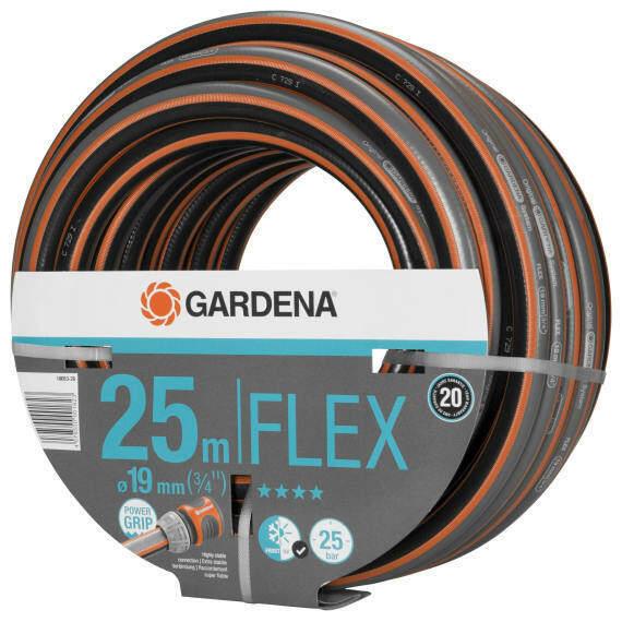 Gardena Gartenschlauch Comfort FLEX 25 m 3/4 Zoll Nr.18053-20
