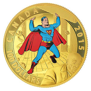 "2015 ""SUPERMAN""  GOLD COIN - MINT CONDITION!!!"