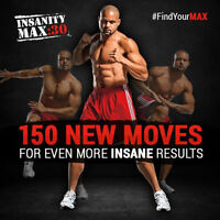 Insanity MAX:30 Challenge Pack Sale + a FREE Gift