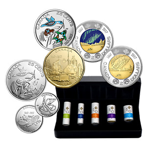 5 Special Wrap Rolls of My Canada My Inspiration - With Case