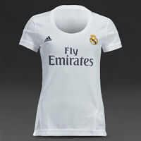 Real Madrid jerseys for WOMAN 2015-16 white color