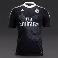 Real Madrid home and away soccer jersey size medium
