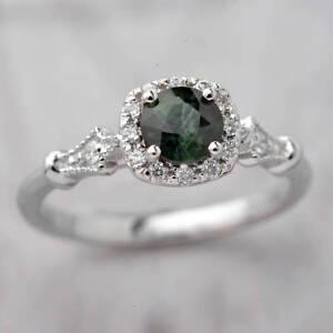 Oscar Gama Montana Sapphire Ring/Engagement Ring Sz 9