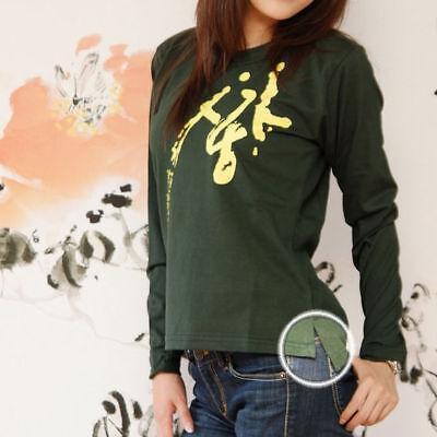T-Shirt Coton Manche Longue KPOP Generation Hallyu Corée Mode SARAGN (사랑)= AMOUR