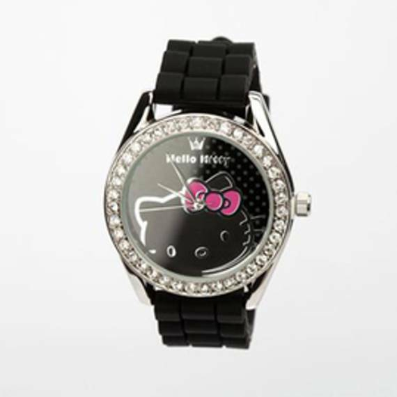 MIB Hello Kitty Rhinestone Wristwatch