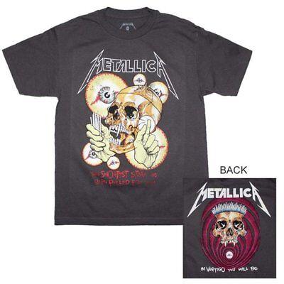 New Metallica Shortest Straw Vintage Heavy Metal Shirt (SML-3XL) badhabitmerch