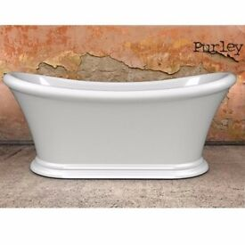 Charlotte Edwards Purley 1700mm Freestanding Bath - BRAND NEW - STOCK CLEARANCE - BEST UK PRICE