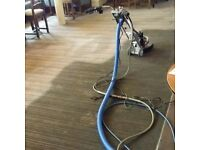 carpet cleaning first room £20 then £10 a room any size