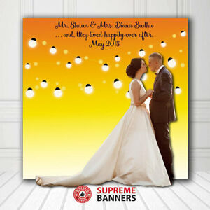 Event Backdrop Banner, Custom Printing, Canopy Tent, Roll Up 110